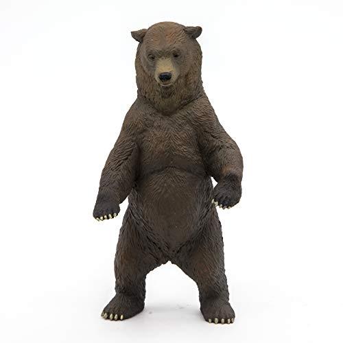 Papo 50153 Grizzlybär WILDTIERE DER Welt Figur, Mehrfarben