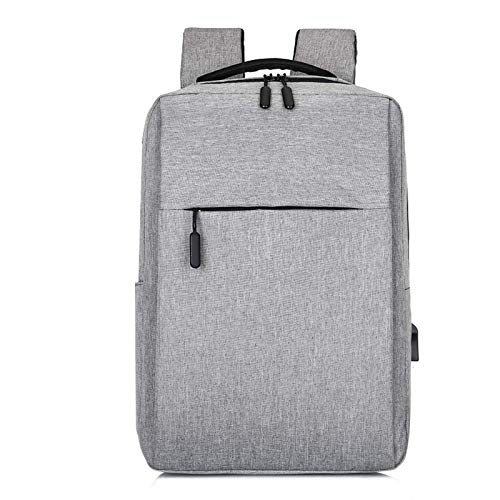 DHxy Antitheft Business Travel Work Computer Backpack with USB Charging Port, Leisure Notebook Computer, Large Lightweight School Bag for College Students and Men