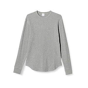 (ユナイテッドアスレ)UnitedAthle 10.3オンス ヘヴィーウェイト ワッフル 長袖 Tシャツ 396001 [メンズ] 714 ヘザーグレー M