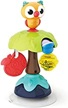 HOLA Suction Cup High Chair Baby Toys 6 Months and Up with Rattle, Grab Twist Spin Owl Table Toys for Babies Infants , Early Learning Activity Center Toy for 6 12 18 24 Months, 1 Year Old Girls Boys
