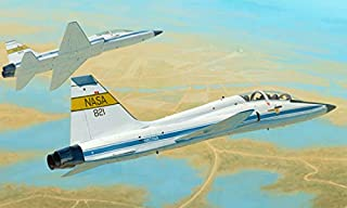 Trumpeter 1/48 Scale Northrop T-38C Talon (NASA) American Jet Trainer Aircraft Plastic Model Kit # 02878