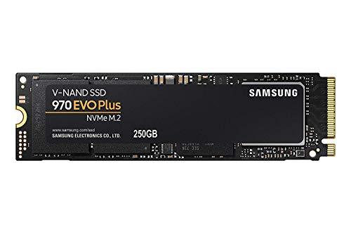 サムスン SSD 250GB 970 EVO Plus M.2 Type2280 PCIe3.0×4 NVMe1.3 (MZ-V7S250BW) [並行輸入品]