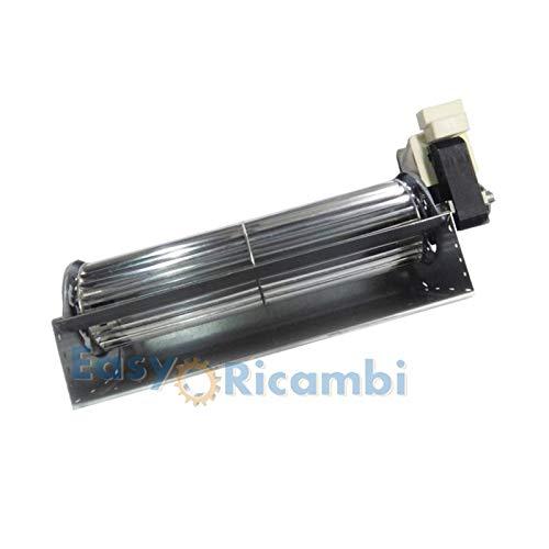 Ventilatore tangenziale TRIAL THS24B5 011 TFA665 D2 per stufa a pellet Lungo 319mm Bocchetta 244x49mm