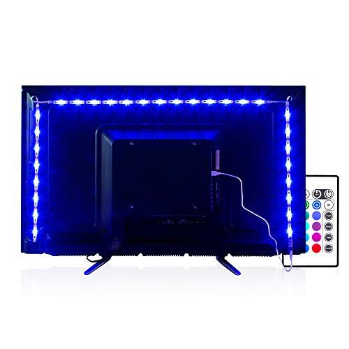 LED TV Hintergrundbeleuchtung 2m Kit Für 40-60 Zoll TV,Pangton Villa RGB 5050 led Strip mit Fernbedienung Usb TV Beleuchtung,MEHRWEG