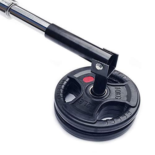 "Simla Decor 360 Degree Rotation Post Landmine for 2"" Olympic Bars Barbell T-Bar Row Plate"