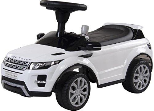 Rutschauto Rutscher Land Rover Evoque mit Sound Lizenzauto Kinderauto OVP&NEU (Weiss)