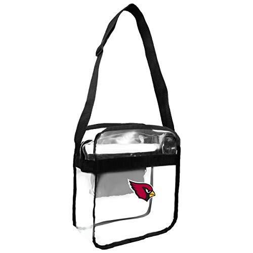 NFL Arizona Cardinals Clear Carryall Crossbody Purse