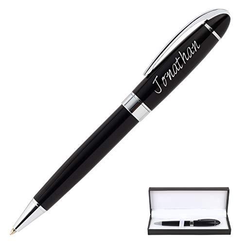 Bolígrafo grabado personalizado Bolígrafo de regalo personalizado Bolígrafo de regalo para hombre o mujer, bolígrafo personalizado para negocios, fiestas, celebraciones en tiendas, viajes de negocios