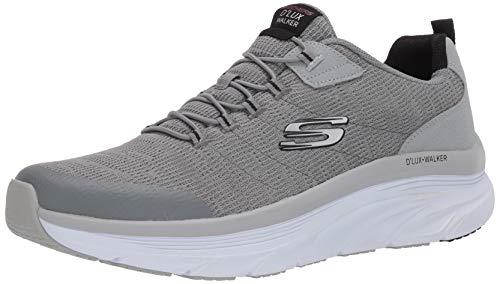 Skechers D'LUX Walker Pensive 232045/GYBK Sneakers Uomo Memory Foam Slip On (Numeric_41)