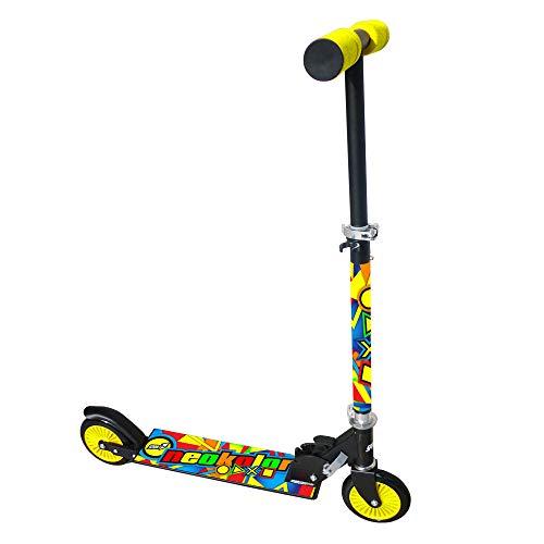 Neokolor 8005586200105 - Mandallas de Ruedas para niños, monopatines, de Metal, 2, Multicolor