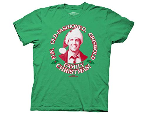 Ripple Junction National Lampoon's Christmas Vacation Family Christmas Adult T-Shirt Large Kelly Green