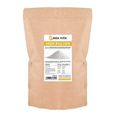 MeaVita 60602 MSM Powder, 1000 g