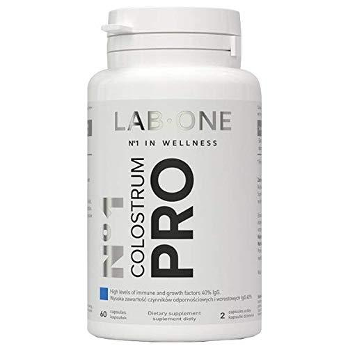 LAB ONE N ° 1 Colostrum PRO - 40% IgG 400 mg - 60 Vidonge