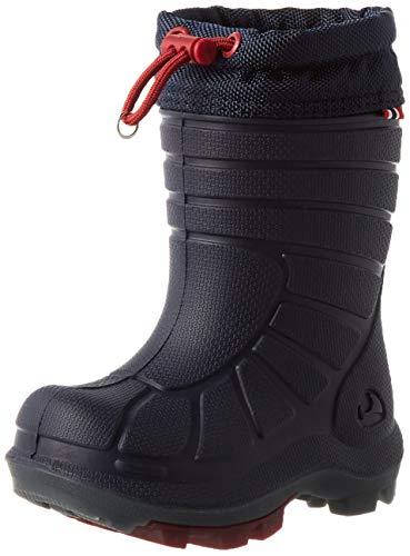 viking Unisex-Kinder Extreme 2.0 Schneestiefel Schnee Schneestiefel, Navy/Dark Red, 22 EU