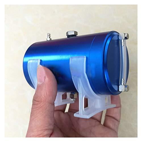 JZYLOVE JINZHIYANG Tanque de Combustible de aleación de Aluminio de 80 ml / 180 ml con Ajuste de la Pantalla de Nivel de Aceite for metanol/Modelo de Motor de Gasolina 2020 (Color : 180ml)