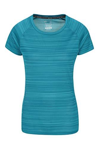 Mountain Warehouse Camiseta Endurance para Mujer - Top de Verano IsoCool para...