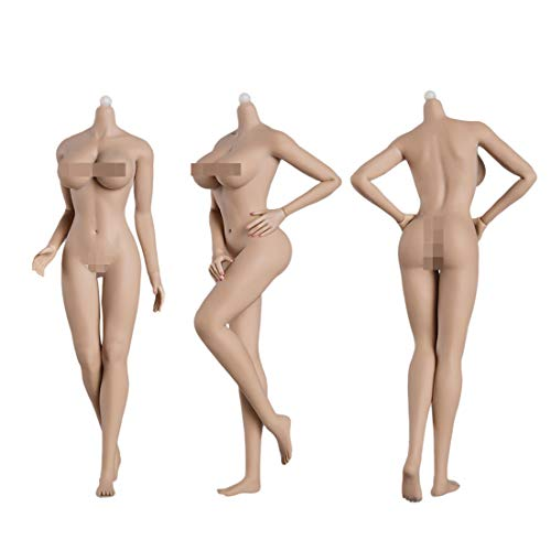 Bataop 1/6 Actionfiguren Weiblich, 12 Zoll Figuren Weiblicher Nahtloser Körper Große Büste (Enthält keinen Kopf )