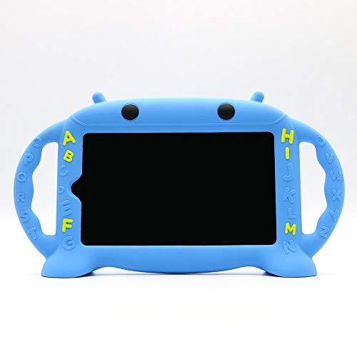 CHIN FAI Funda Infantil para Samsung Galaxy Tab 3/4 / E Lite 7.0 Pulgadas [Serie de Dibujos Animados de Robots] Manija de Silicona a Prueba de Golpes Funda para el Modelo P3200 SM-T230 SM-T113