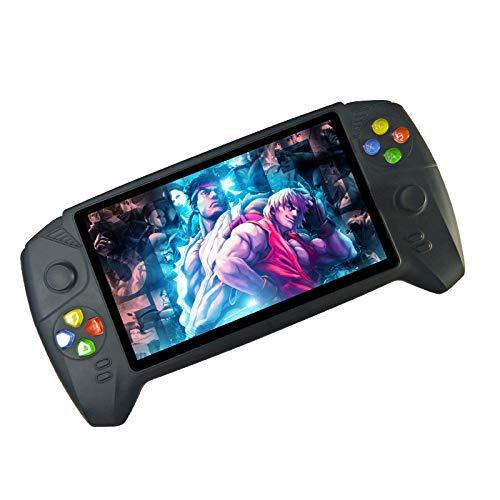 DZTIZI Consola De Juegos Portátil, Juegos Retro 7 Pulgadas Consolas De Videojuegos Portátiles,Black16G
