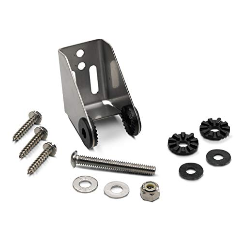 Humminbird 740162-1 Metal Bracket for Si G2N Transom Mounting Hardware, Black, Standard