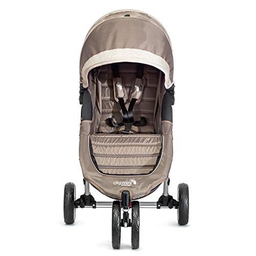 Baby Jogger City Mini 3 - Silla de paseo, color negro/gris