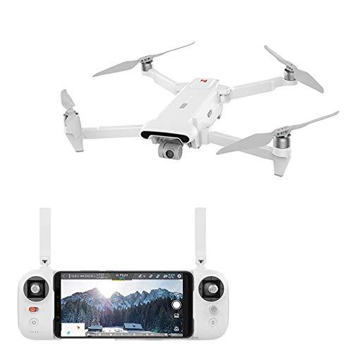 Hongxin FIMI X8 SE 2020 Folding Drone, 8KM FPV 3-axis Gimbal 4K Camera WiFi GPS RC Drone Quadcopter RTF Aerial Photography (White)