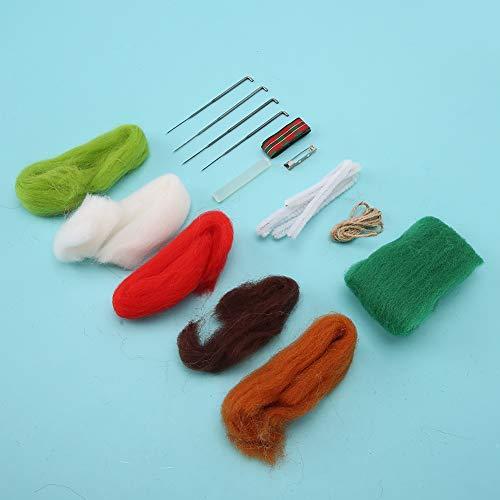 Broche de Fieltro de Aguja Completa Artesanía Hecha a Mano Artesanía DIY Producción(Lollipop Brooch)