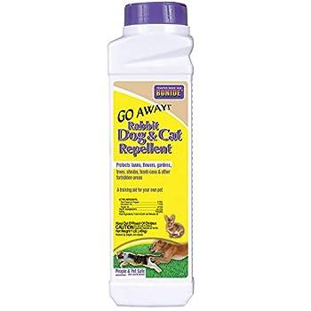 Bonide 037321008705 870 1-Pound Go Away Rabbit Dog and Cat Repellent 1 lb