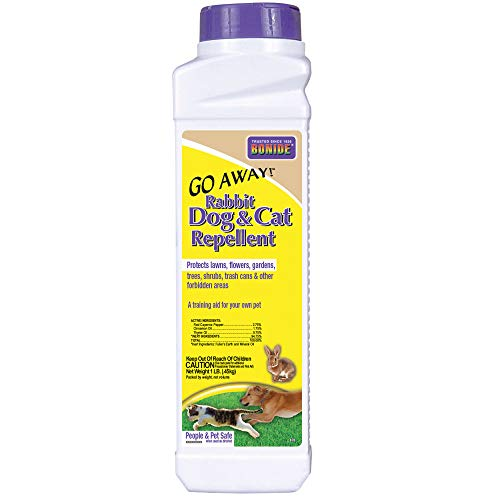 Bonide 037321008705 870 1-Pound Go Away Rabbit, Dog and Cat Repellent, 1 lb, Brown/A