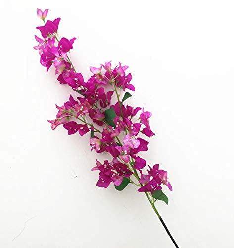 Kesio Flores artificiales de buganvilla de buganvilla para centros de mesa de...