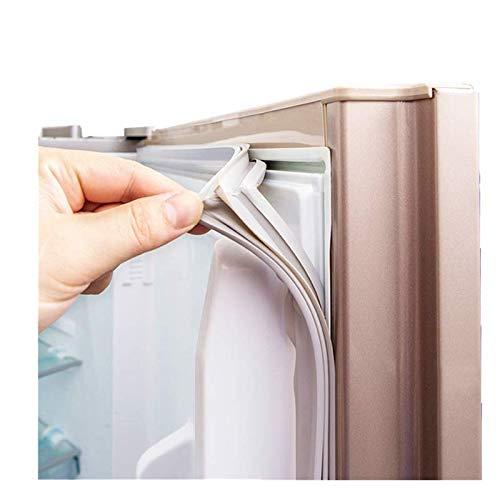 MOUNTIAN Juntas de refrigeradores Universal a Medida para Puertas Todas Las Tallas Repuestos para refrigeradores para Bosch Refrigerador Blanco