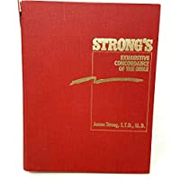 Strong's Exhaustive Concordance of the Bible/Words of Jesus Identified in Boldface Red Letter and a Key-Word Comparison 0529066793 Book Cover