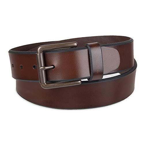 Dockers Men's Bridle Belt, Brown, 38