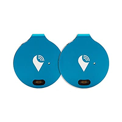 TrackR Bravo Generation 2 Tracker, 2-Pack, Silver, Works with Alexa