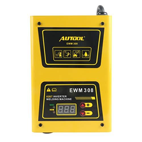 ARC EWM308 Inverter Elektrode Tig Lasser Draagbare Booglassen met Schouderriem, AC 220V 120A Elektrische Booglasser Welder IGBT