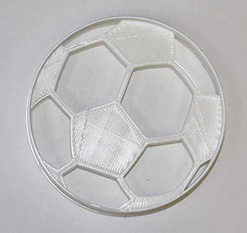 SOCCER BALL ASSOCIATION FOOTBALL TEAM SPORT WORLD CUP COOKIE CUTTER FONDANT BAKING TOOL USA PR698