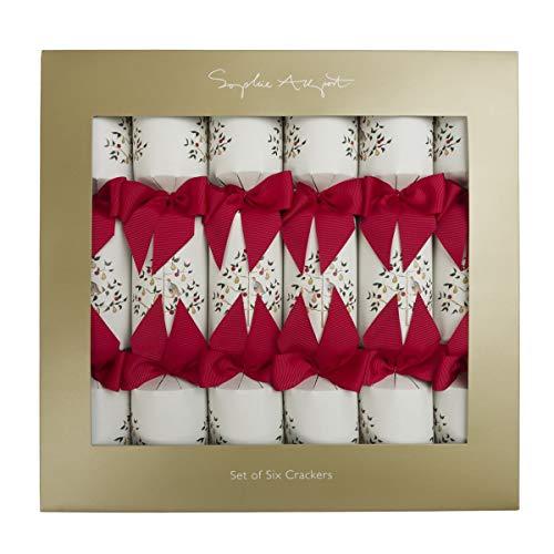 Sophie Allport Partridge Christmas Crackers (Set di 6)