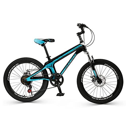 Bicicletas, Bicicleta De 20 Pulgadas De La Bicicleta De Montaña 7 Velocidad Mtb Con Tenedor De Suspensión, Freno De Doble Disco, Bicicleta Urbana De La Ciudad De La Ciudad Par(Size:7 speed,Col