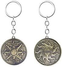 Dark Souls Inspired - Praise The Sun Keychain