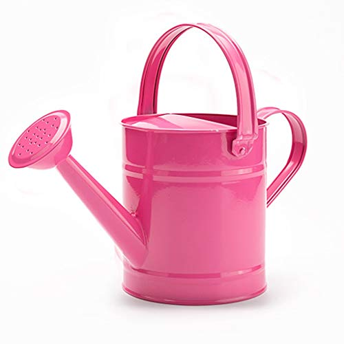 Gießkanne Große Kapazität 1,5 l Gartenarbeit Eisen Home Blumenladen 1,5 l große Kapazität Langlebig (Color : Pink)