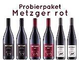 6 er Probierpaket Weingut Metzger | Rotwein aus der Pfalz | 6 x 0,75l