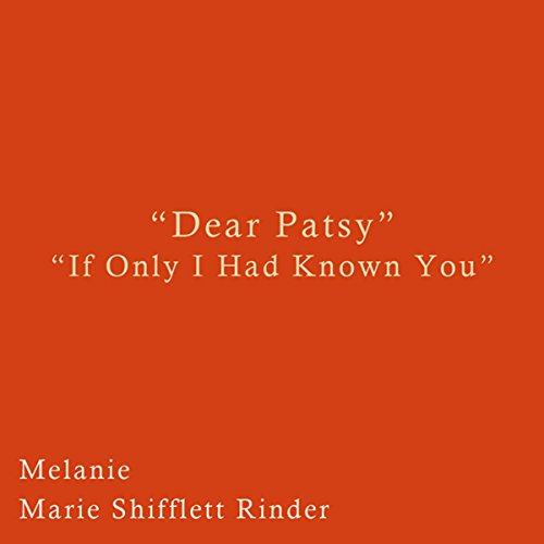 Dear Patsy audiobook cover art