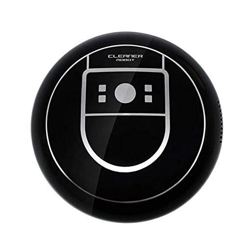 Robot Aspirador y Fregasuelos,Zeerkeer Aspira y Friega Aspiradora con Sensores Barre, aspira, friega y Pasa la mopa, Especial Mascotas, para Suelos Duros y Alfombras (Negro)