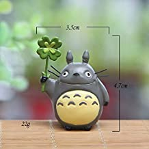 YOYOTOY Japan Mini Totoro Action Figure Resin Toys Ghibli Miyazaki Anime Lucky Totoro Figurine Model Collectible Decoration for Kids Thing You Must Have 2 Year Old Girl Gifts The Favourite DVD