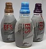 First Endurance EFS Liquid Shot Mixed 6 Pack of Vanilla, Wild Berry and Kona Mocha