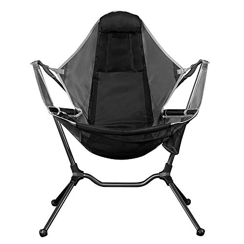 Hhusali Portable Folding Camping Chair for Camp, Fishing, Hiking