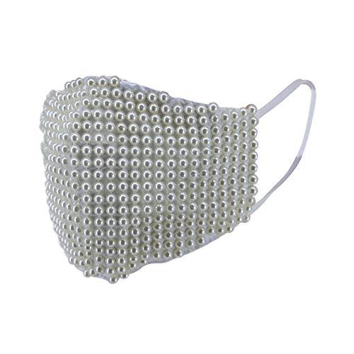Fashion Cloth Face Mask (White Pear…