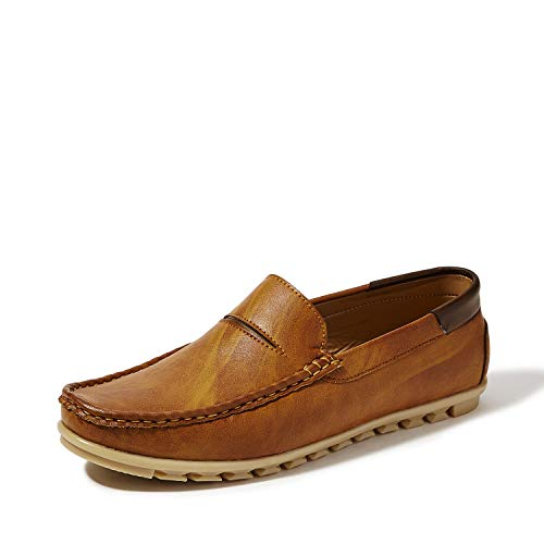 Centrino Men 7104 Tan Loafers-8 UK/India (42 EU) (7104-01)