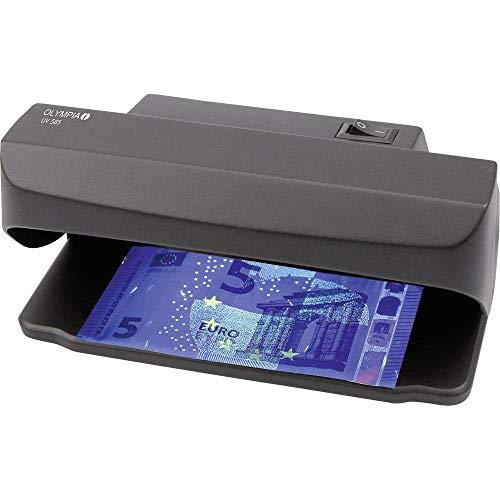 Olympia UV 585, Détecteur de faux billets, contrôle l authenticité de billets avec lampe UV