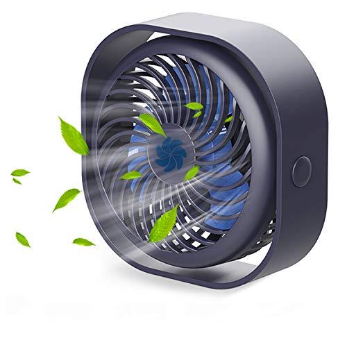 Besylruy USB Fan Quiet Desk fan with 2000mAh Battery Mini Portable Fan 360...